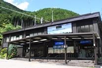 ロープウェイ駅・更衣室・荷物(冬季)