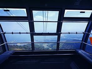キャビンからの眺望イメージ